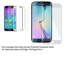 For Samsung Galaxy S6 Edge/Edge Plus Ultra Clear/Tempered Glass screen protector