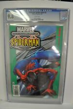Ultimate Spider-Man #3 CGC 9.8 White Pages Bendis Bagley! 2001 Marvel Comics