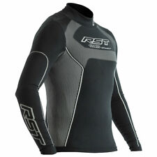RST Tech X Coolmax Motorbike Motorcycle Long Sleeve Top Black