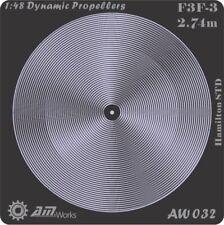 Alliance Model Works 1:48 Prop Blur Dynamic Propellers F3F-3 Hamilton STD #AW032