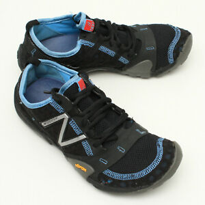 New Balance Womens Minimus Trail Low Shoes Barefoot Black WT10BL US 7 Vibram