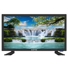 Led Tv Flat Screen Television 19 Inch With Remote Class HD 720 HDMI USB VGA