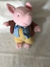 "11"" Pigling Bland Plush Pig Beatrix Potter W/Tags"