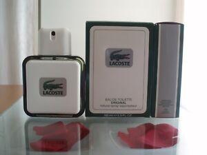 LACOSTE POUR HOMME ORIGINAL EAU DE TOILETTE 100 ml SPRAY. CLASSIC.