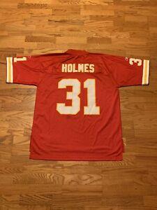 VINTAGE Reebok NFL Priest Holmes Kansas City Chiefs Jersey HOF Rare Adult XL