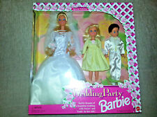 WEDDING PARTY BARBIE Stacy And Todd 1994 DELUXE SET Mattel SPECIAL EDITION New