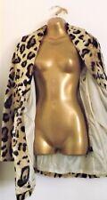 BNWT - So Fabulous - Leopard Print Jacket (Brown) Size UK 24