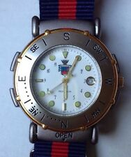 CARABINIERI military Italian Corps, Mens, Swiss Made, Date, Compass NOS