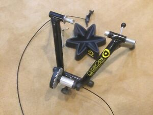 CycleOps Mag Indoor Bicycle Trainer with Stand & Bar Mounted Remote Shifter