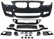For BMW F10 F11 Front bumper M Sport with fogs Sport Tech Package line