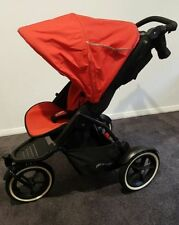 Travel System 3 Wheels Prams & Strollers with Adjustable Back Rest