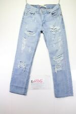 Levi's 511 customized accorciato (Cod.E1185) tg45 W31 L34 jeans donna usato
