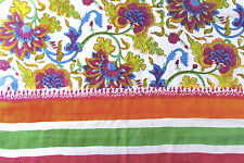 Donate Blind Cat Rescue - Hand Painted and Hand Block Printed Soft Silk Scarf