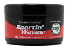 SPORTIN WAVES HAIR GEL POMADE WITH WAVITROL BLACK 3.5oz