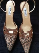 ISAAC MIZRAHI SHOES **** NEW*** SIZE US 8**** BROWN LEPORAD SUEDE