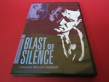 Blast of Silence (Criterion Collection) (Dvd, 1961)