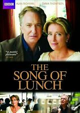 The Song of Lunch (DVD, 2012) - EX LIBRARY COPY