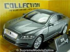 JAGUAR XJ 2010 CAR MODEL 1/38TH SIZE GREY OPENING DOORS WELLY TYPE Y0675J^*^
