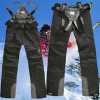 2020 New Men's Sports Waterproof Windproof Ski Snow Pants Overalls Trousers Warm