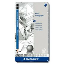 Staedtler Mars® Lumograph® Drawing Sketch Pencils Wood 12 Pieces Set 100 G12
