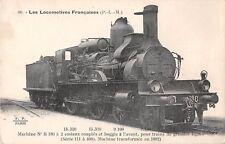 CPA THEME TRAIN LES LOCOMOTIVES  P.L.M. N°B 180