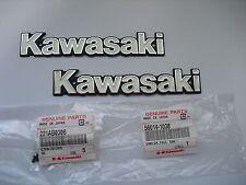 KAWASAKI Z750FX1 KZ1000MK2 Genuine Fuel Tank Emblem SET 56014-1038 Japan