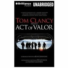 Tom Clancy Presents Act of Valor by George Galdorisi and Dick Couch (2013, CD,