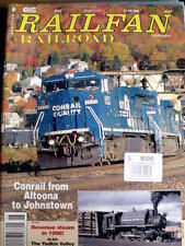 Railfan & Railroad June 1996 - Conrail from Altoona to Johnstown -  Tr.22