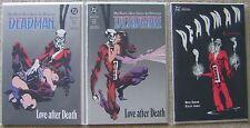 DEADMAN LOVE AFTER DEATH #1-2 + EXORCISM DC COMICS 1989 NM UNREAD COMPLETE SET