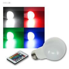 LED Glühbirne E27 RGBW Fernbedienung 5W 230V Farbwechsel Birne Glühlampe bunt