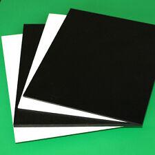 "6mm 1/4"" SINTRA PVC FOAM BOARD PLASTIC SHEETS YOU PICK SIZE & COLOR^"