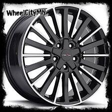 16 inch black Vision 466 Conduit wheels rims Honda Accord Civic CRV 5x4.5 5x100