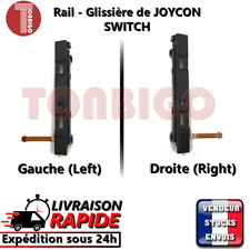 Glissière de joycon fixation rail slider droite gauche manette NINTENDO SWITCH