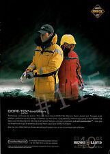 Henri Lloyd GORE-TEX EVOLUTION Offshorer Racer Jacket & Trousers 2003 ADVERT