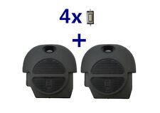 2x Schlüssel Gehäuse Für Nissan Primera Almera Terrano X-Trail Micra+4x Taster