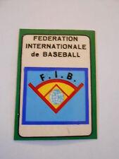 Campioni dello Sport 1968-69 Scudetto - FEDERATION INTERNAZIONALE BASEBALL