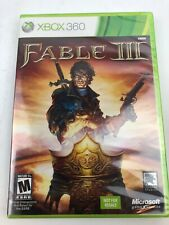 New Sealed Fable 3 III XBox 360 Game RPG US NTSC Free Shipping