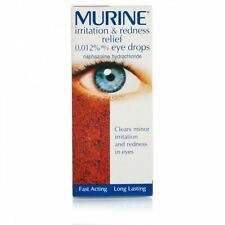 Murine Irritation & Redness Relief Eye Drops Solution 10ml 0186098