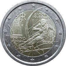 ---   2 EURO COMMÉMORATIVE ITALIE 2006 - JEUX OLYMPIQUES D'HIVER  ---