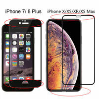 Tempered Glass Screen Protector For Apple iPhone X XS Max XR