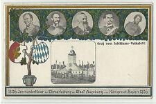 Bayern Augsburg Jubiläums-Volksfest 1906 Privat-GA PP20C2/02 RR!!