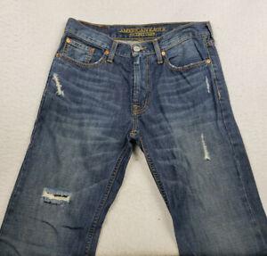 American Eagle Men's Size 29x32 Medium Wash Original Straight Blue Jeans
