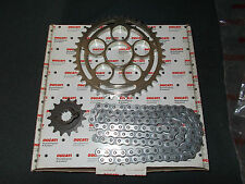 NEW GENUINE DUCATI MONSTER S2R CHAIN & SPROCKET KIT 67620591A