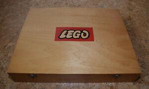 Lego Holzkiste Sortierkasten mit Holz-Inlay ohne Inhalt Vintage (60er-Jahre)