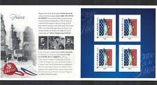 Frankreich France 2016 USA Freiheitsstatue Liberty Island 4 sticker ** / mnh