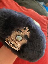 More details for prince william county virginia police winter hat mouton trim with badge obsolete