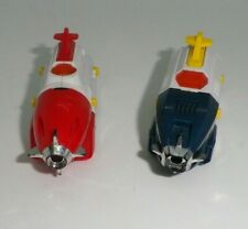 lot of 2 Voltron Dairugger DX Vehicle Force Upper Legs #7 & #8 XV Popy Bandai