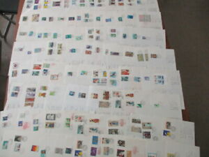 Japan Stamp First day cover instruction sheet and explanation 100 Covers