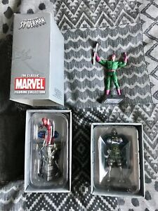 Eagle moss Marvel Diecast figures x3 Wrecker/ Doctor Doom/Spider-Man rare items