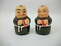 Vintage Catholic Monk Seminary - Salt and Pepper Shakers